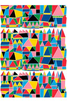 Kortteli cotton fabric $51.01 by Marimekko  Product: Kortteli cotton fabric Code: 065764 - 101 Pattern: Kortelli Pattern Designer: Aino-Maija Metsola Material: cotton Repeat: 0.96 yards