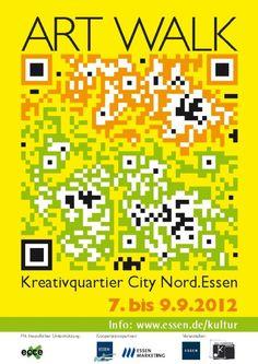 QR-Code zum ART WALK Essen, Unperfekthaus best #QR #Code #Ideas repinned by #tatieja