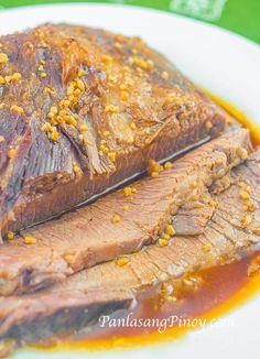 Slow Cooked Beef Brisket Recipe - Panlasang Pinoy