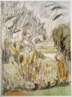 Bonnard drawing.