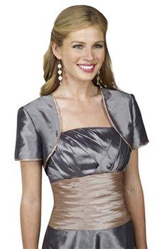 Short Sleeve Satin #Bolero & #Shawls Style Code: 06692 $29