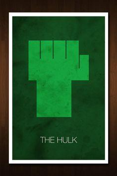 The Hulk Avenger Art Print  Poster by designbynickmorrison on Etsy, $11.99
