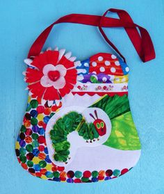 Hungry Caterpillar Purse by WildOliveKids on Etsy, $15.00