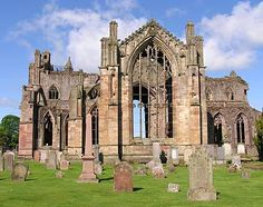 """""""On the day that his grannie was killed by the English, Sir William Scott was at Melrose Abbey, marrying his aunt."""""""