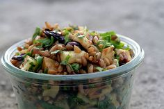 roasted root vegetable & wheat berry salad by David Lebovitz