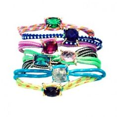 Love these Juicy Couture / JamieBeck / Kevin Burg bracelets