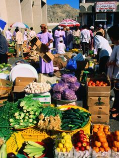 Marketplace in  Oman