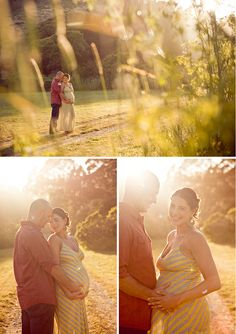 Maternity photos, the lighting here is beautiful