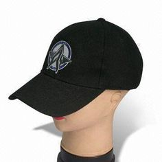Cotton Twill Baseball Cap with Embroidery, 6 Panels, OEM Orders are Welcome
