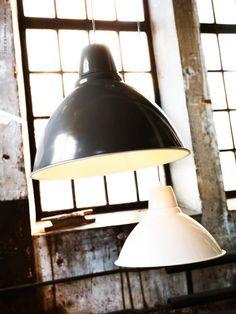 (No kidding;-) Ikea Industrial light