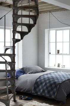 If I were to finish the attic, stairs like this would be a great option...if its possible and somewhat affordable to get them.