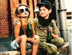 two cute kids