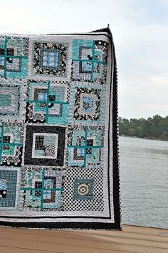 Here's a quilt I would actually love for my bed!