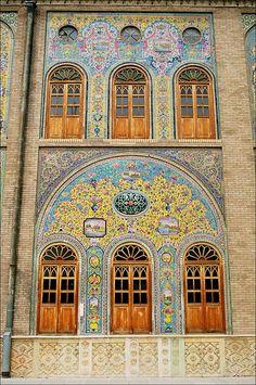 Golestan Palace in Tehran , Iran