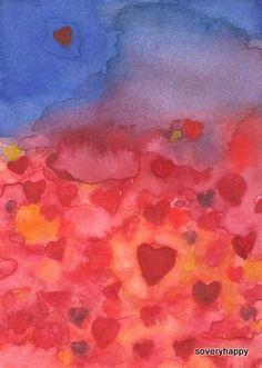 Art Print Loves Journey by soveryhappyart on Etsy, $24.00