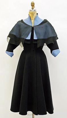 Coat  Madame Grès (Alix Barton)  (French, Paris 1903–1993 Var region)  Date: fall/winter 1950–51
