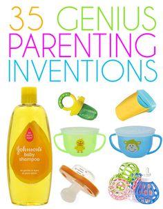 35 genius parenting inventions