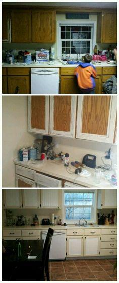 kitchen makeover !