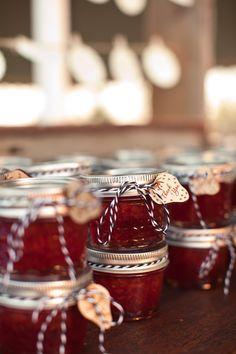 mini jars of jam