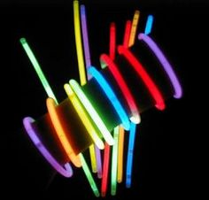 """Summer Game!  This is a tradition that our family started for the 4th of july.  We can see fireworks from our backyard but right before they start we play """"Glow Stick Hunt"""".  Its a simple game of parents throwing and hiding glow sticks around the yard and the kids gather them as fast as they can.  Its a cheap game and our kids enjoy it more than the fireworks=)"""