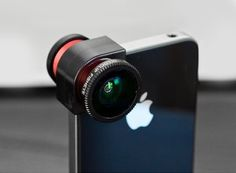 Olloclip -- 3-in-1 fisheye, wide-angle, and macro lense for your iphone