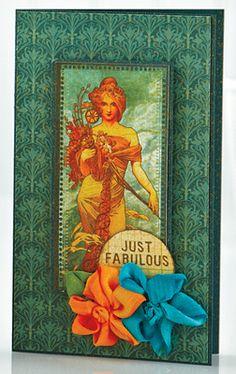Just Fabulous Card by @Kimberly Kesti
