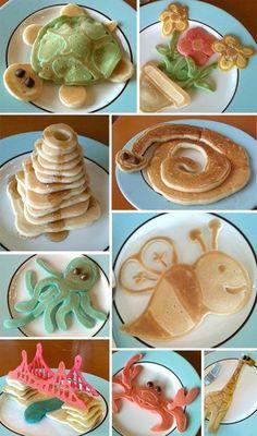 Pancake fun! oh my goodness