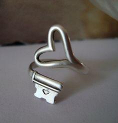 Heart key ring!