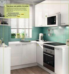 Cocinas on pinterest ikea kitchen ikea and small kitchens - Cocinas del leroy merlin ...