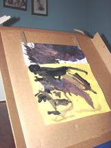 Pizza Box easel: Easel Activities #8 « Open-Ended Art For Young Children