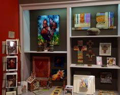 """The Museum Store gets a makeover. The changes include """"new"""" artwork by many talented local and regional artists. Come by to see us."""
