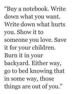 the reasons i write