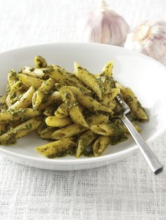 Penne with Pesto Recipe : Food Network Kitchen : Food Network - FoodNetwork.com