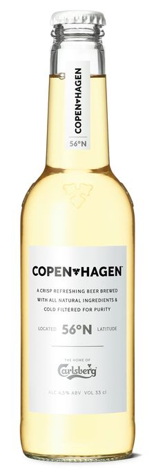Copenhagen Beer | #bottledesign #packaging #beer