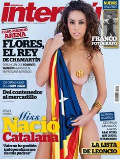 Jéssica Oliveras, Miss Nación Cataluña 2012, desnuda para Interviú