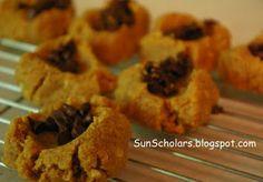 Sun Scholars: 3 Ingredient Peanut Butter Cookies