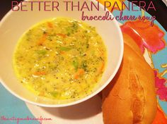 Better Than Panera Broccoli Cheese Soup - The Vintage Modern Wife