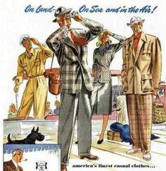 Mens 1940's Fashion History - 1940's Fashion | 1940's Fashion