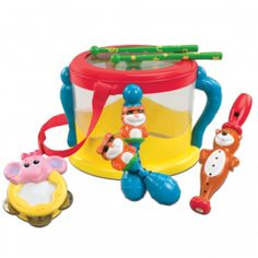 Baby music toys are the perfect way to introduce music to your child—and at the earliest ages possible.