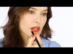Lisa Eldridge makes me want Maybelline Non Stop Red!!