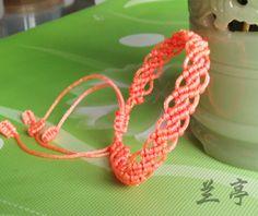一款简单的手链 - mifor - 兰亭结艺