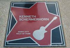 Kenneth Schermerhorn received his star in November 2006; he is widely credited with raising the level of excellence of the arts in Nashville. The Schermerhorn Symphony Center in Nashville is named in his honor
