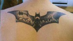 Batman Tattoo #tattoos