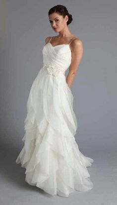 Beach Wedding Dresses 2013