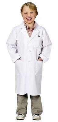 Kid's lab coat