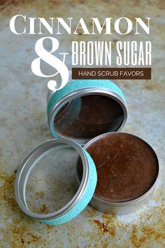 Cinnamon and brown sugar hand scrub