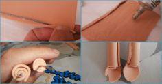 ¡Atención a los amantes de las fofuchas! Aprende a hacer brazos y piernas articuladas.