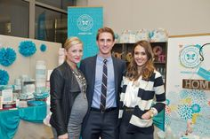 Our Founders, Jessica Alba and Christopher Gavigan (and his wife Jessica Capshaw), at the Biggest Baby Shower Ever in Los Angeles on 2/28/2012