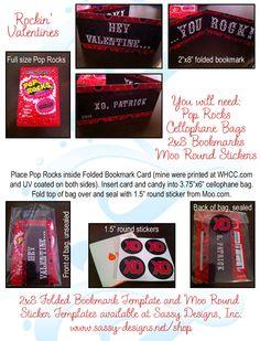 Rockin' Valentines #sassydesigns #graphicdesign #valentines
