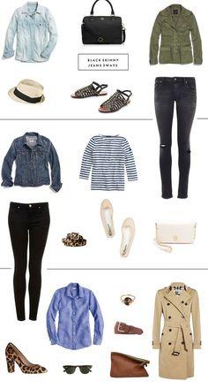 Closet Staples 3 Ways: Black Skinny Jeans